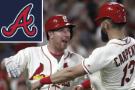 Gyorko homers as Cardinals rally past Braves 6-3