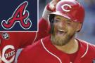 Barnhart's 3-run homer off Greene lifts Reds over Braves 6-4