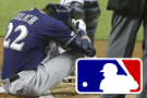 Brewers star Yelich breaks kneecap, out for regular season
