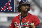 Braves' Acuña hustles for double in Game 2 of NLDS