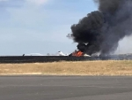PLANE CRASH LANDS AT OROVILLE AIRPORT