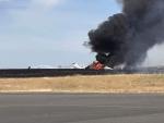 FAA INVESTIGATES ORORVILLE JET CRASH
