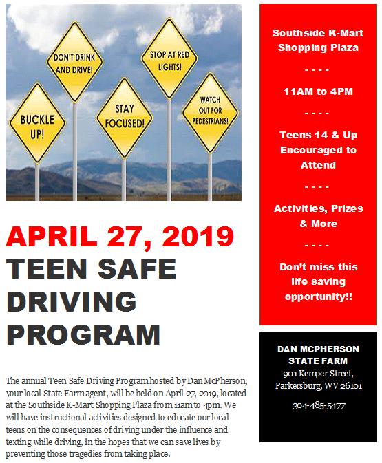Teen Safe Driving Event