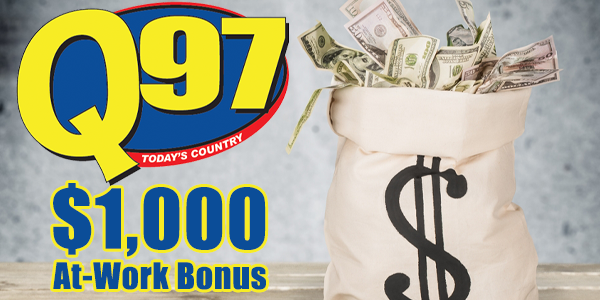 Win a $1,000 At-Work Bonus!