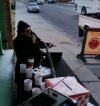 Tim Buc Moore at Mugshots Coffee House in Oroville for Wake the Buc Up!