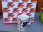 Tim Buc Moore customized Z-Rock Doodle Mug at Wake the Buc Up in Paradise for Wake the Buc Up!