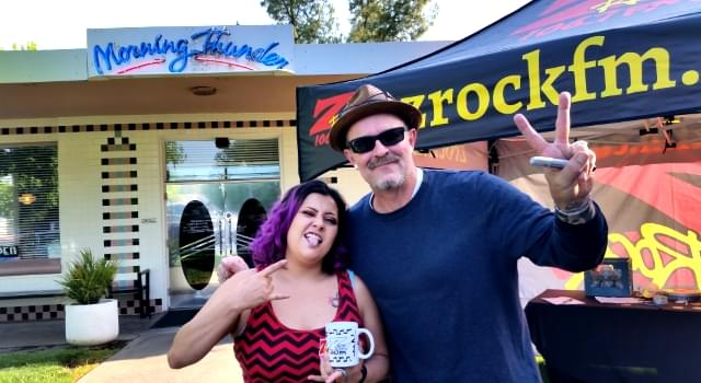 Wake the Buc Up! – Morning Thunder Cafe in Chico 06-07-18