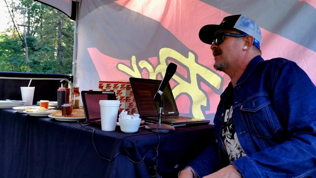 Wake the Buc Up, live at Debbie's Restaurant in Paradise CA June 14th 2018 on 106.7 Z-Rock