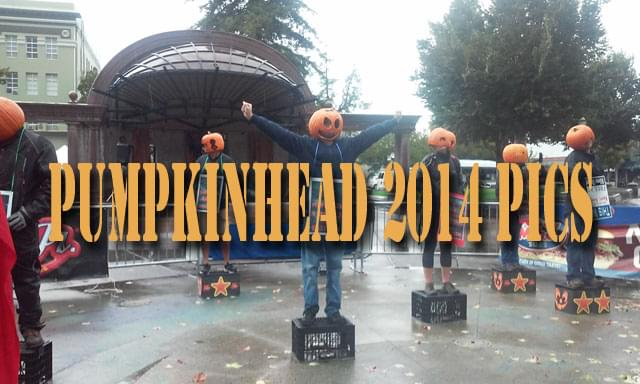 Pumpkinhead 2014 at Downtown City Plaza in Chico 10/25/14