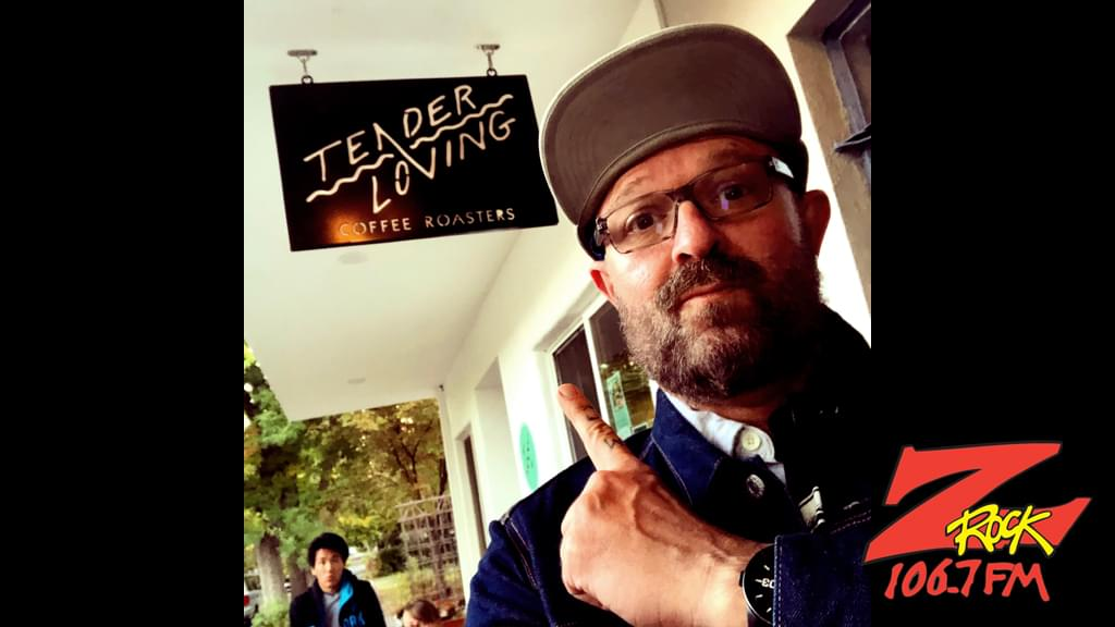 Tim Buc Moore and crew at Tender Loving Coffee in Chico for Wake the Buc Up 10/18/18