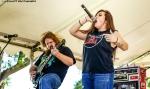 Manteca California based metal band HellHeart plays 106.7 Z-Rock's Pumpkinhead at Manzanita Place in Chico California October 20th 2018