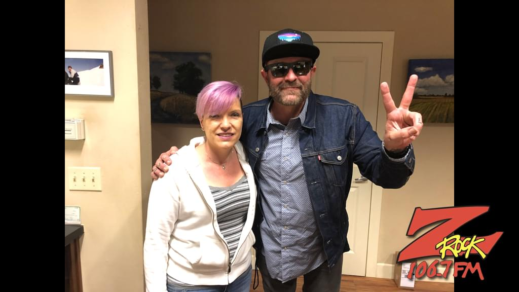 Tim Buc Moore with winner at Satava Art Glass in Chico for the Z-Rock Munch Box