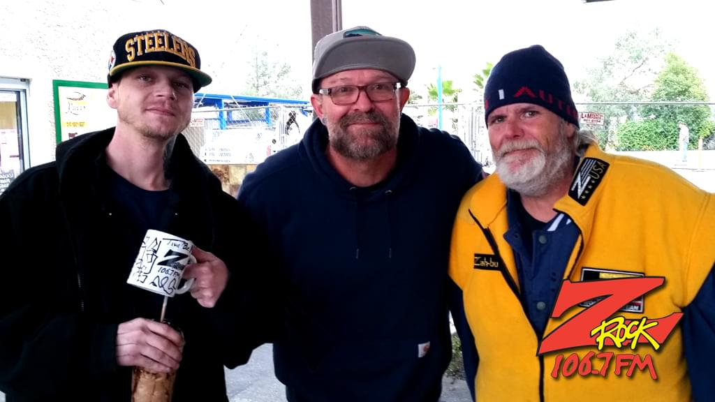 Tim Buc Moore with Buc Heads at Wake the Buc Up by River's Hot Dogs December 20th 2018 in Oroville California