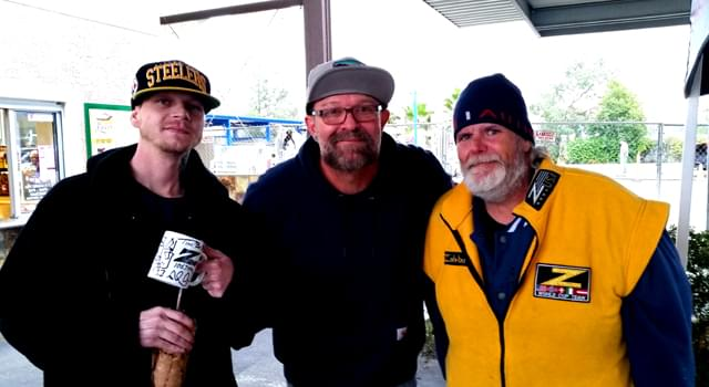 Wake the Buc Up! – River's Hot Dogs in Oroville 12-20-18