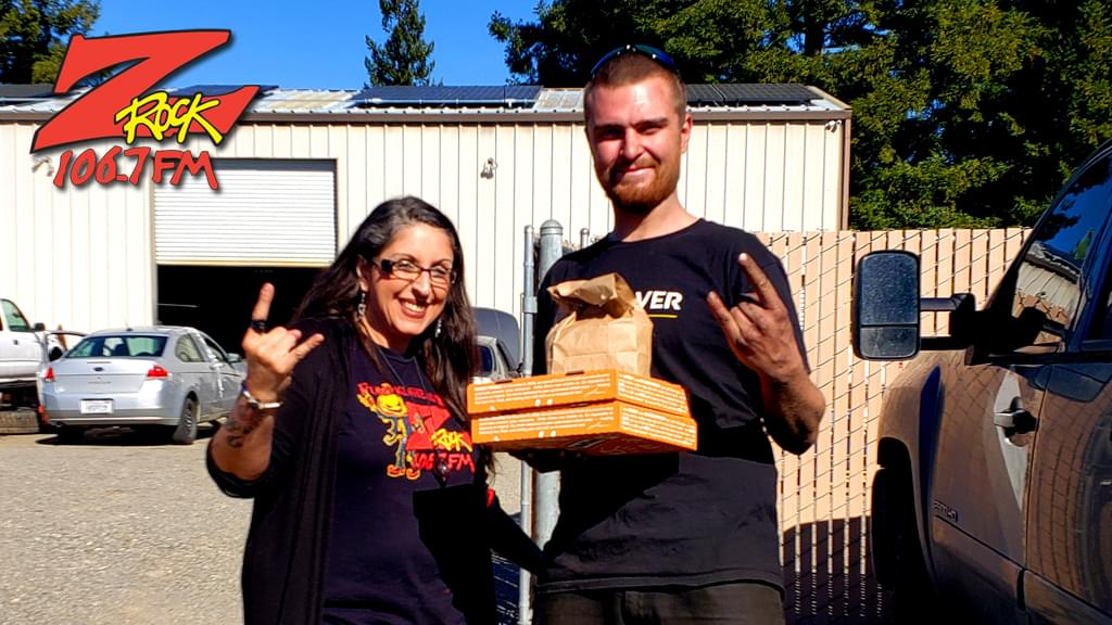 Frost with winner at Flextout Motorsports in Chico for the Z-Rock Munch Box