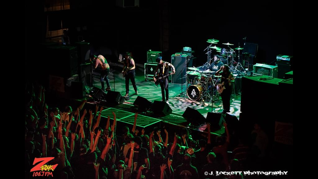 Amahjra opening for Puddle of Mudd at the Senator Theater in Chico CA May 9th 2019