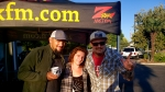 Tim Buc Moore with Buc-heads at I-5 Cafe & Creamery in Orland for Wake the Buc Up on 106.7 Z-Rock, Thursday October 1st 2019