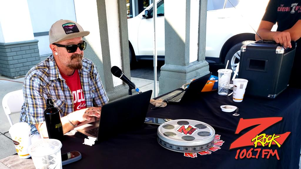 Tim Buc Moore broadcasting live at I-5 Cafe & Creamery in Orland CA for Wake the Buc Up on August 1st 2019