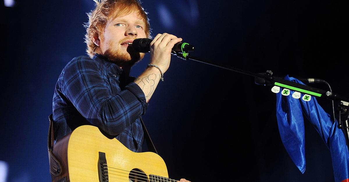 Watch: Ed Sheeran Performs Elton John Tribute