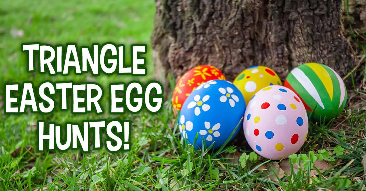 Easter Egg Hunts Around the Triangle