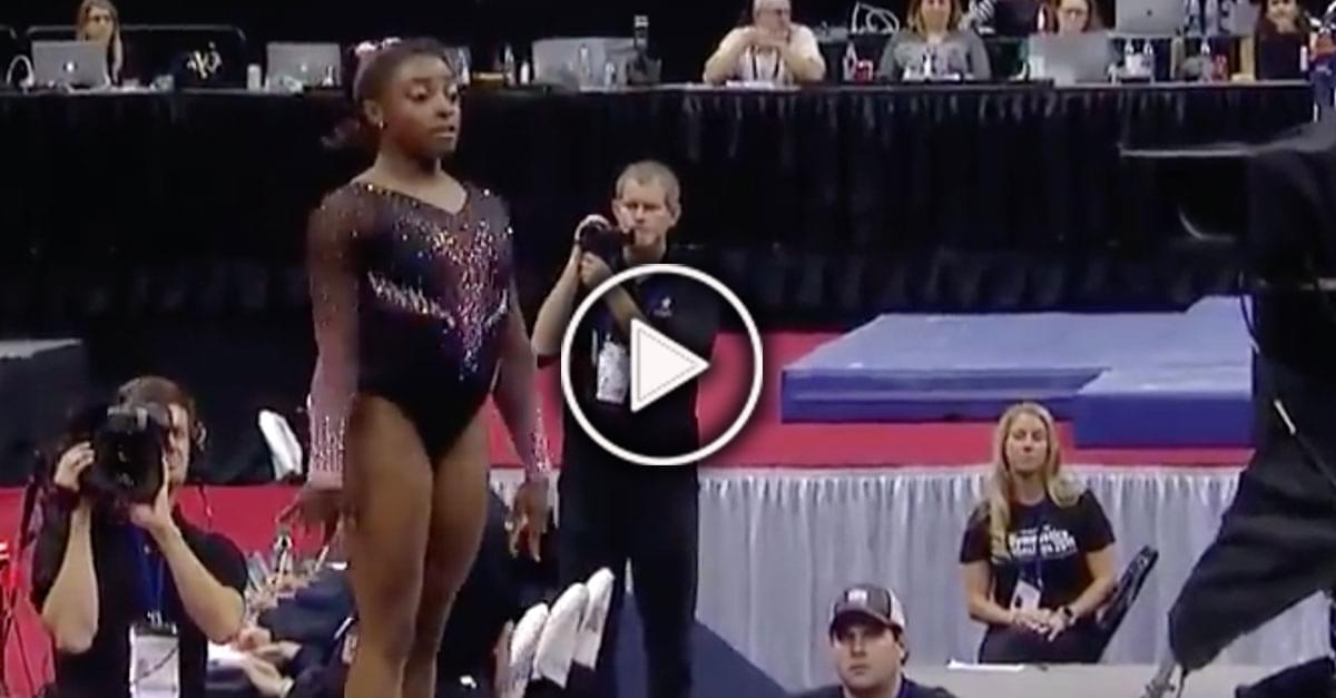 Watch: Gymnast Simone Biles Completes 'Hardest Move in the World'
