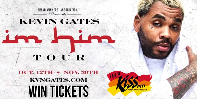 Win Tickets To Kevin Gates at DPAC!
