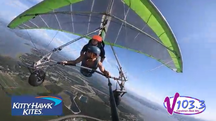 Amy K Goes Hang Gliding!