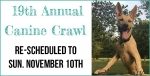 Canine Crawl 2019 – Rescheduled to November 10th