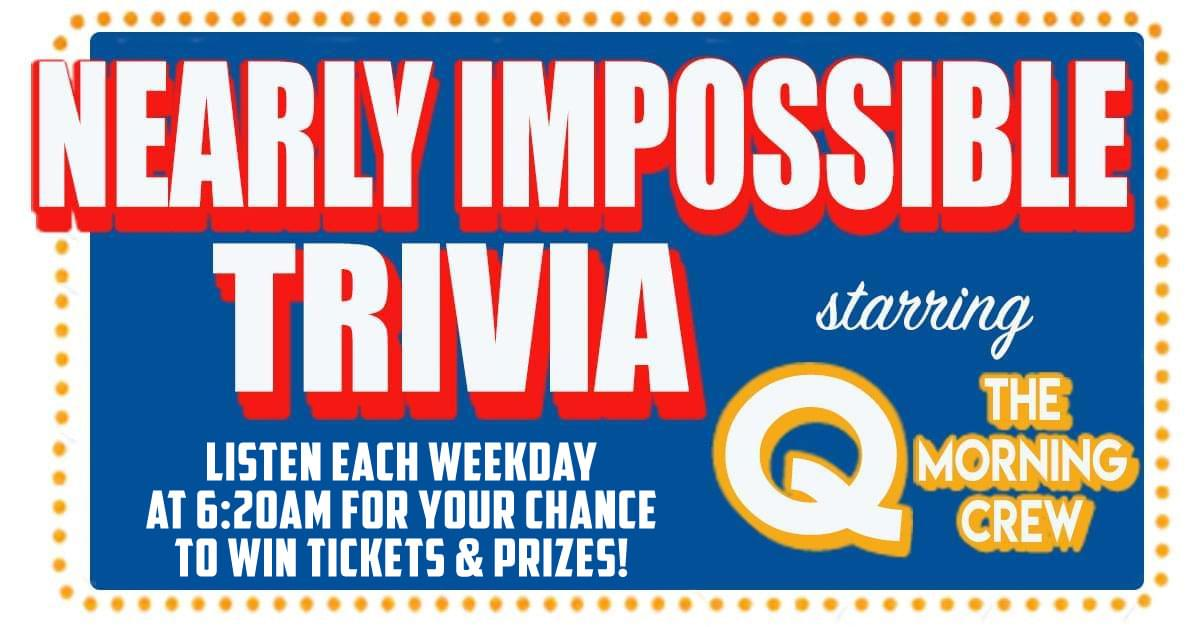 Nearly Impossible Trivia: October 11, 2019