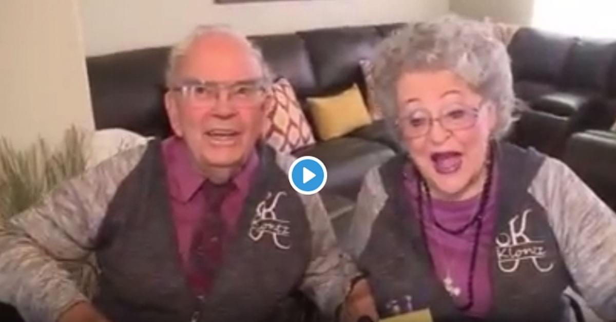 Couple Matches their Outfits for Nearly 70 years