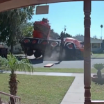 Imagine A Crane Landing On Your House