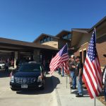 Hundreds Show up in Support at Funeral Service of Korean War Veteran, Dale Quick, Who had no Known Survivors