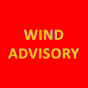Wind Advisory for Area in Effect