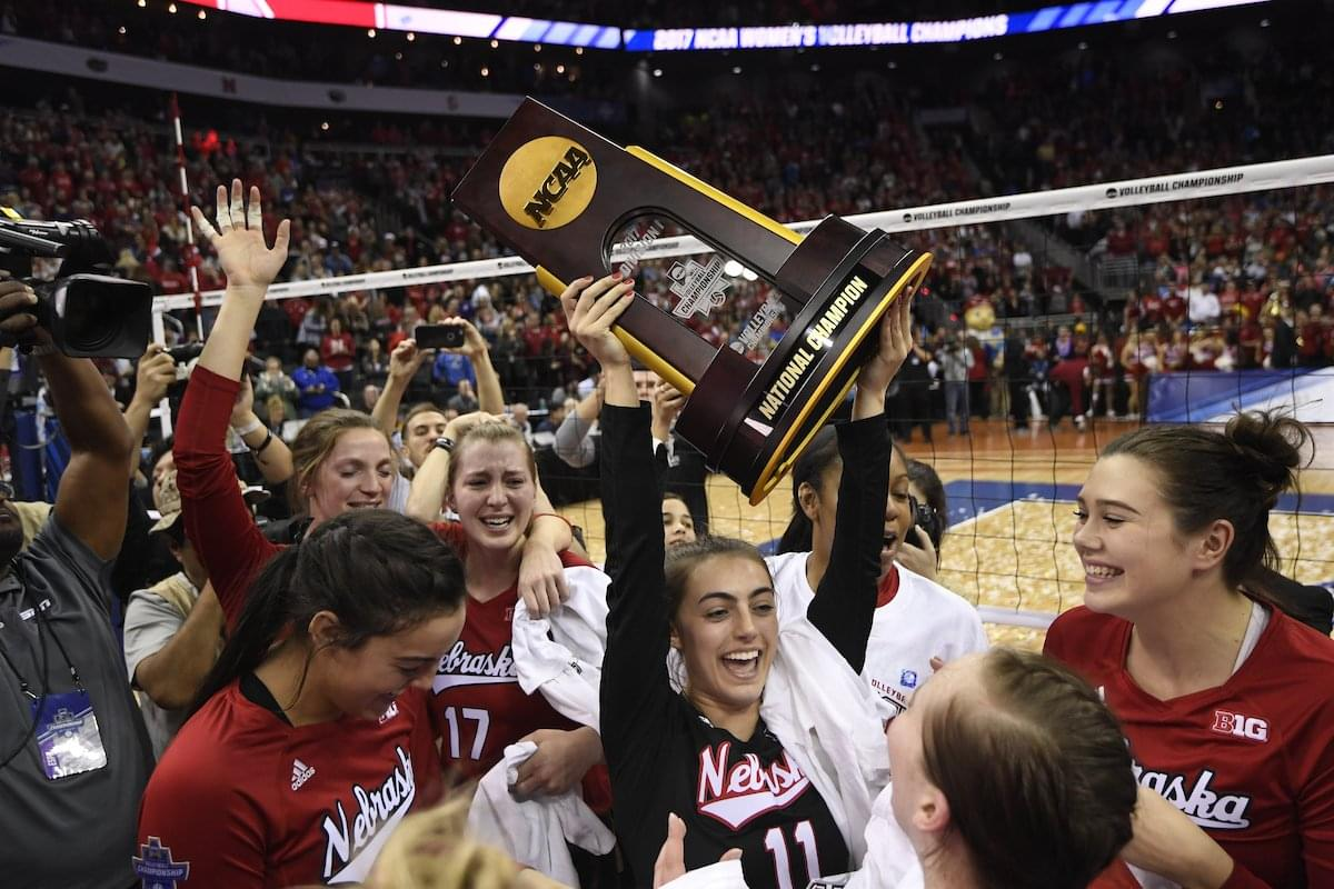 Husker Volleyball ranked No. 2 in preseason poll