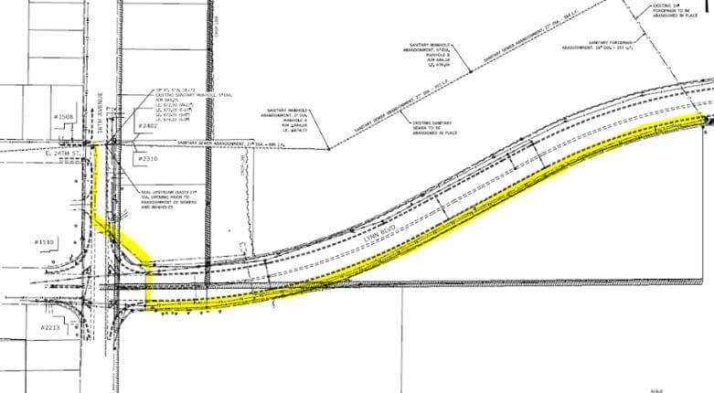 Sterling Road Repair Map