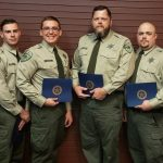 Lee County Sheriff's Office Welcomes Three New Corrections Deputies