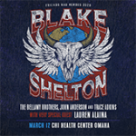 Blake Shelton at CHI Health Center