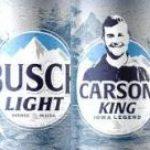 """Busch Creates a Can for """"Iowa Legend"""" Carson King"""