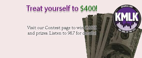 $400 Cash Prize