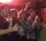 Ed Sheeran singing Backstreet Boys Karaoke at a bar in Nashville