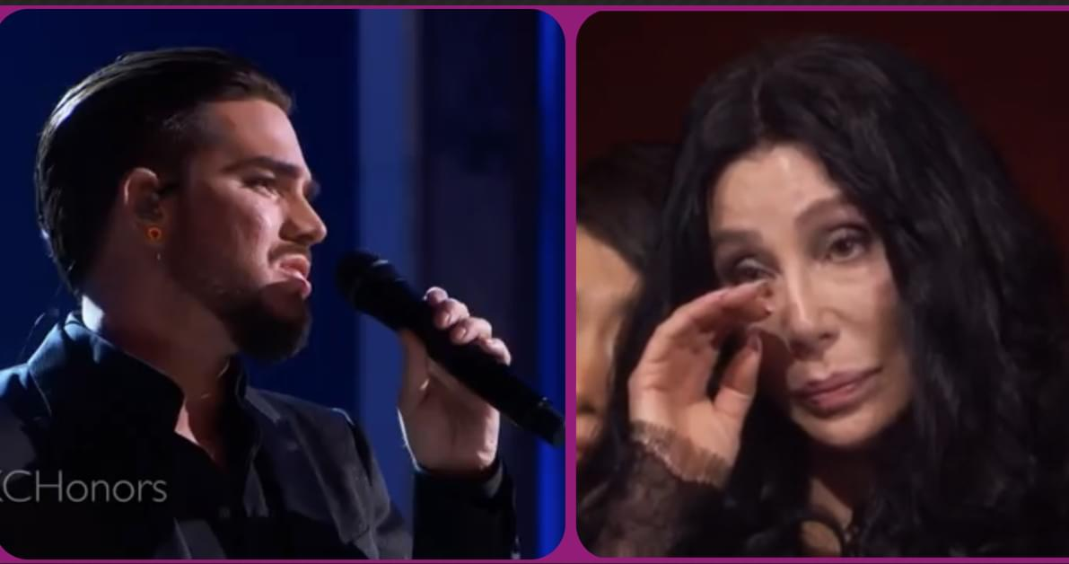 """Adam Lambert just moved Cher to Tears!!! Check out his cover of """"Believe!"""""""