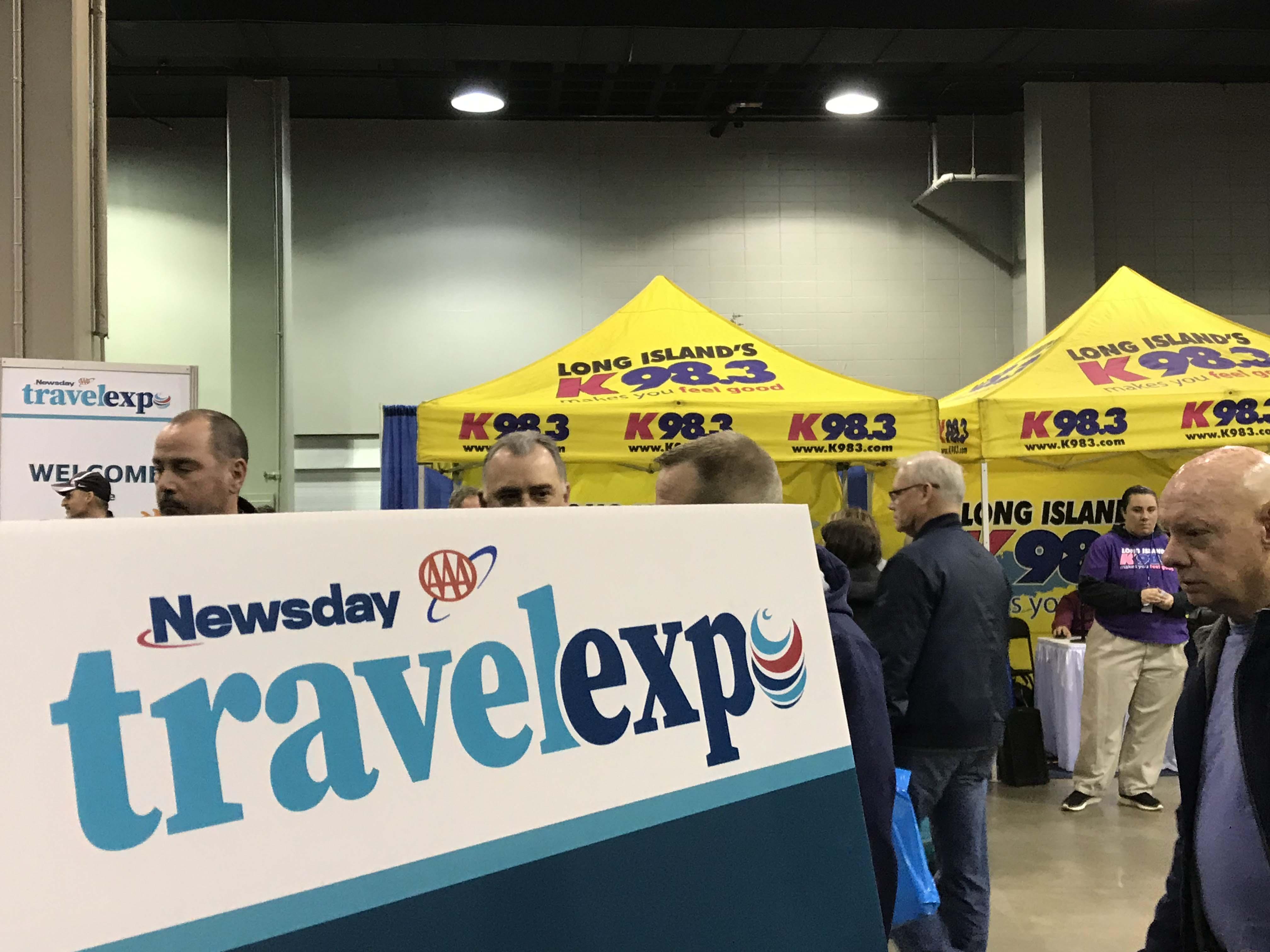 K98.3 @ Newsday's Travel Expo