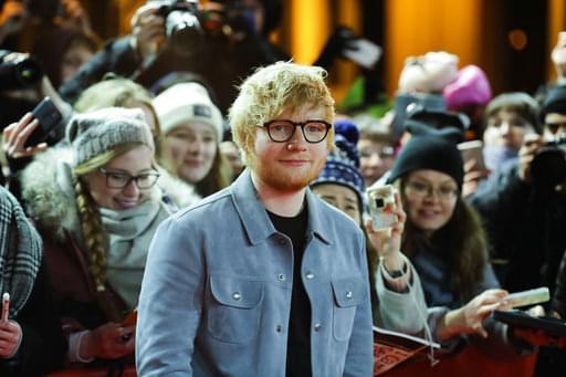 Giant Ed Sheeran Statue in Russia!