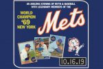 50TH Anniversary of the Amazin' Mets with Arthur Shamsky, Ron Swoboda & Ed Kranepool @ NYCB Theater at Westbury 10/16!