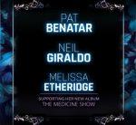 PAT BENATAR & NEIL GIRALDO WITH MELISSA ETHERIDGE @ The Paramount 8/28!