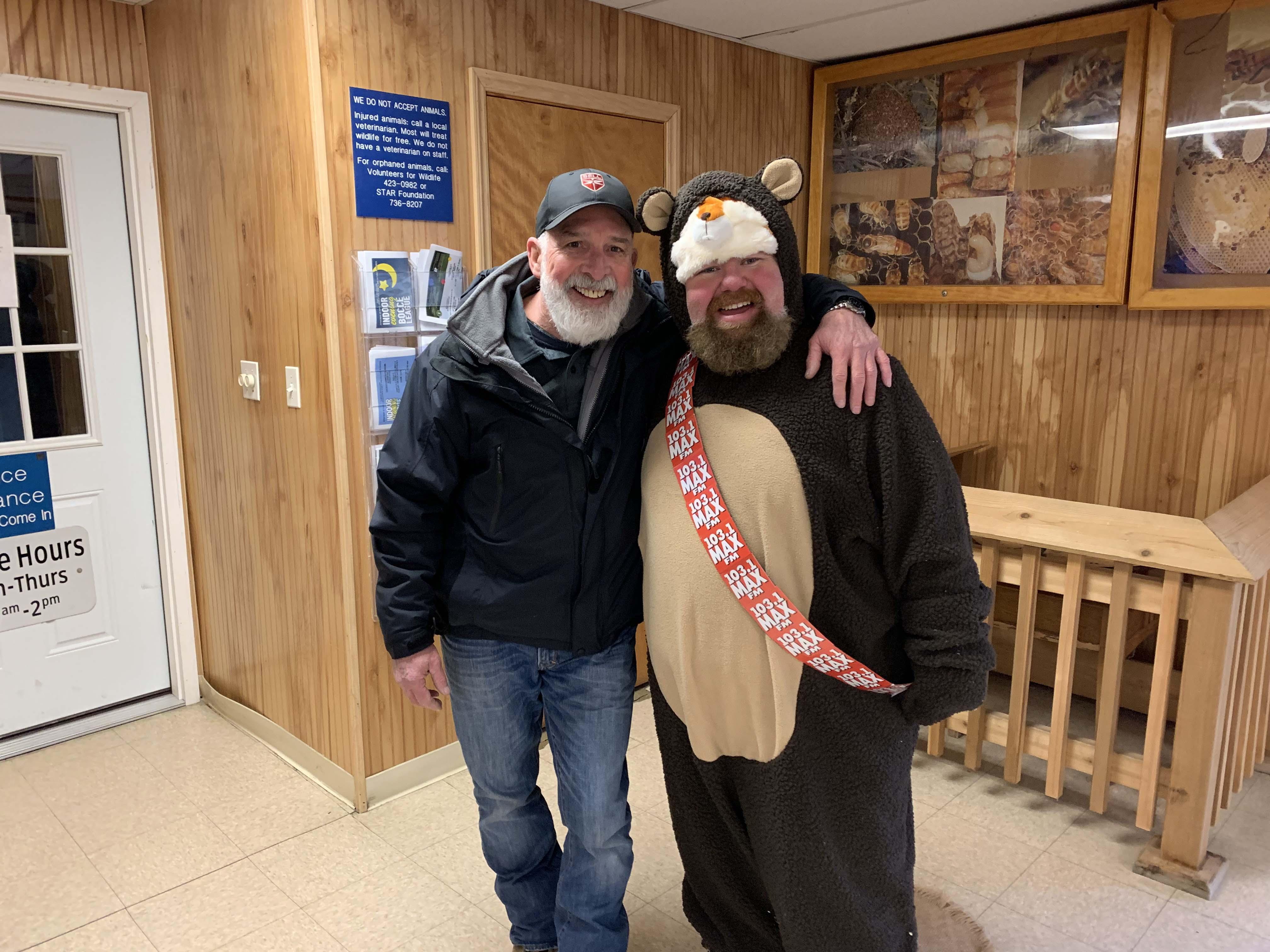 103.1 MAX FM at Hostville Groundhogs day