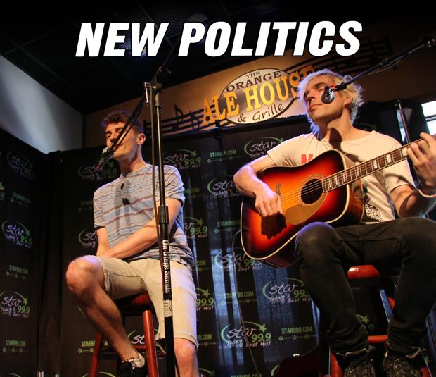 Star Acoustic Sessions: New Politics