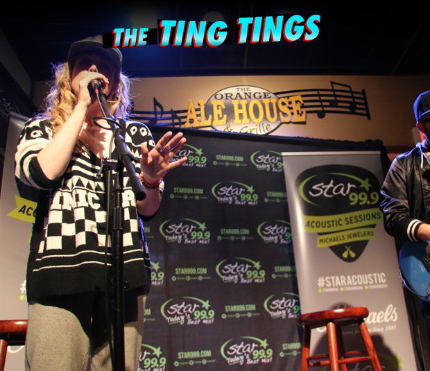 Star 99.9 Michaels Jewelers Acoustic Session: The Ting Tings