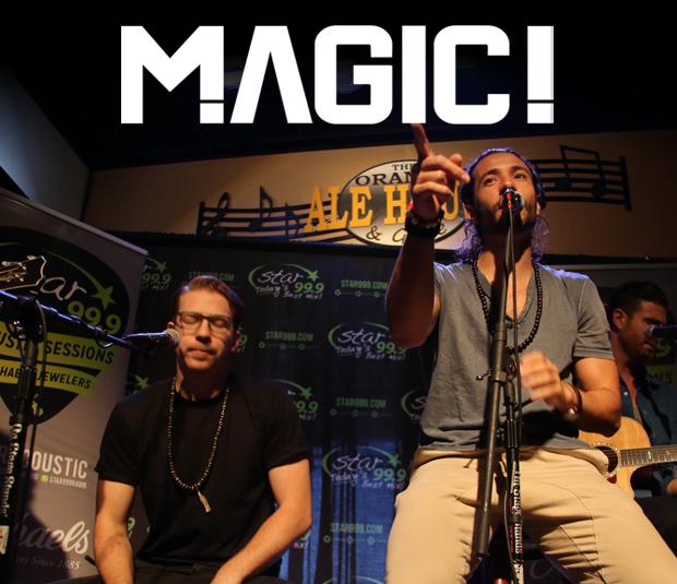 Star 99.9 Michaels Jewelers Acoustic Session: Magic!