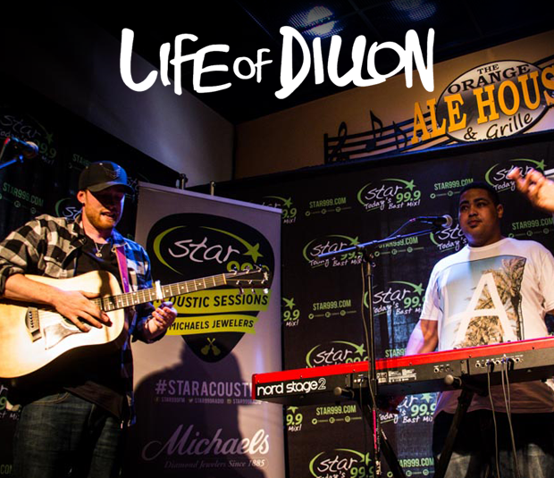 Star 99.9 Michaels Jewelers Acoustic Session: Life of Dillon